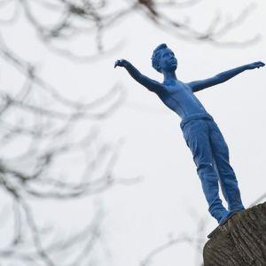 Blaues Männchen: Ein Rätsel bewegt Duderstadt
