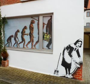 Atelier - Duderstadt Art Fassade Rückwand