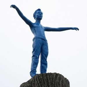 Duderstadt rätselt über blaues Männchen